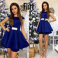 Платье с пышной двойной юбкой (5 цветов), фото 1