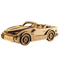 """Сборная деревянная модель """"Машина БМВ"""" 145*85*50 мм 80765"""