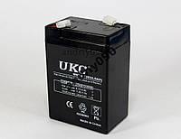Аккумулятор батарея UKC 6V 4.0Ah 640