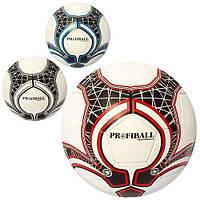 Мяч футбольный 2500-65ABC (30шт) размер5, ПУ1,4мм,32панели, ручн.работа,400-420г,3цвета,