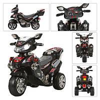 Мотоцикл M 0562 (1шт) мот12W,акк 6V/4,5A,3км/ч, до20кг,3-6лет,черн,102-41-64см,в кор-ке,77-43-42,5см