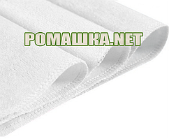 Детская 70х50 см непромокаемая водонепроницаемая пеленка махровая дышащая многоразова 3964 Белый
