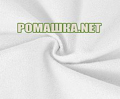 Детская непромокаемая пеленка 95х65 см махровая дышащая многоразова 3964 Белый