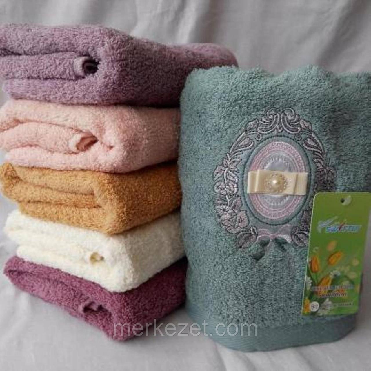 """Полотенца """"Ома"""". Махровые банные полотенце. Махра для бани"""