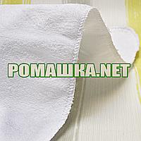 Детская непромокаемая тёплая мягкая пушистая многоразовая дышащая пеленка 70х50 см 3965 Белый
