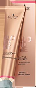Крем для Пастельного тонирования Schwarzkopf Professional  BlondMe BLONDE TONING