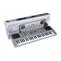 Детский обучающий синтезатор MQ-807, USB, LCD Display, MP3, микрофон