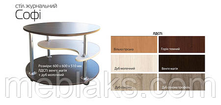 """Офисный журнальный стол """"Софи"""", фото 3"""