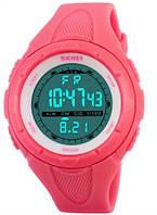 Часы Skmei 1074 Hot Pink BOX