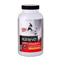 """HIP&JOINT REGULAR """"NUTRI-VET"""" СВЯЗКИ И СУСТАВЫ, 1 уровень, хондроитин и глюкозамин для собак, с МСМ, таблетки"""