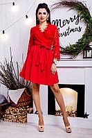 Платье Нарядное беби дол красное