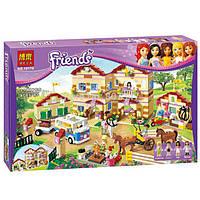 """10170 Конструктор Friends Bela 10170 """"Школа верховой езды"""" (аналог Lego 3185), 1118 дет."""