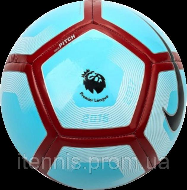 Футбольный мяч Nike Pitch-PL BlueNew - купить по лучшей цене в ... a98f29eea0e4a