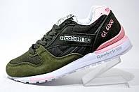 Женские кроссовки Reebok GL 6000, SNE Green\Pink