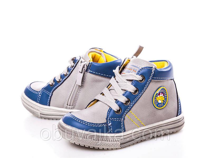 Ботинки для мальчиков от С Луч Демисезонная обувь (22-27)