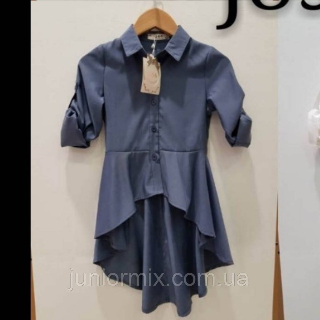 Подростковые модные блузки для девочек оптом  MODA ITALI