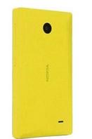 Чехол оригинальный для Nokia X A110/X+ Dual - Nokia CC-3080 -желтый