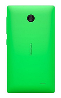 Чехол оригинальный для Nokia X A110/X+ Dual - Nokia CC-3080 -зеленый