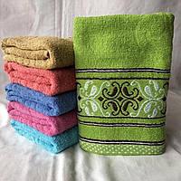 """Рушник банний """"Готель"""". Банные полотенца из махры"""
