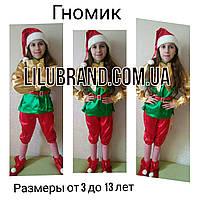 Гном карнавальний костюм, фото 1