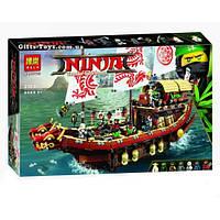 """Конструктор Ninjago Movie BELA 10723 (аналог Lego 70618) """"Летающий корабль Мастера Ву"""" 2455 дет."""