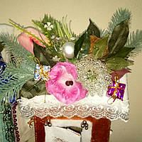 Новогодняя упаковка для подарков ручной рвботы