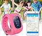 Детские смарт-часы / Smart Watch /  Q50 pink / ОРИГИНАЛ / GPS-трекер / детские умные часы / розовые, фото 7