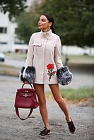 Пальто на утеплителе( слимтекс ) р-ры с и м