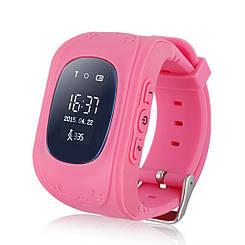 Детские смарт-часы / Smart Watch /  Q50 pink / ОРИГИНАЛ / GPS-трекер / детские умные часы / розовые