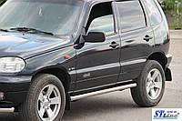 Niva Chevrolet ((10 + )Bertone) пороги трубы   d60х2мм