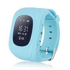 Детские смарт-часы / Smart Watch /  Q50 blue / ОРИГИНАЛ / GPS-трекер / детские умные часы / голубые