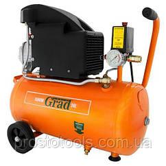 Компрессор одноцилиндровый 24 л 1.5 кВт Grad 7043515