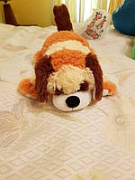 Собачка ручная работа мягкая игрушка подушка