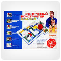 Детский электронный конструктор «Знаток» 320 схем, REW-K002