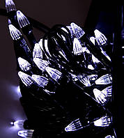 Новогодняя гирлянда ЕЛОЧКА ,200 светодиодных лампочек , белая