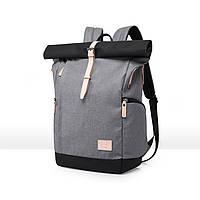 Рюкзак для ноутбука водонепроницаемый серый, фото 1