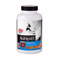 """MULTI-VITE """"NUTRI-VET"""" МУЛЬТИ-ВИТ комплекс витаминов и минералов для собак, жевательные таблетки"""