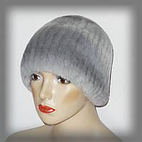 Меховая шапка из голубого кролика Rex Rabbit