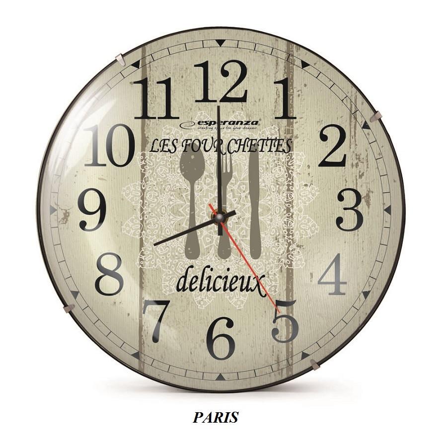 Часы настенные Esperanza  Paris EHC018P