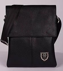 Кожаная мужская сумка Philipp Plein 24*18