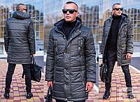 Зимняя мужская куртка M - XXL - Хаки
