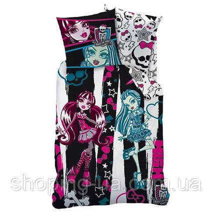 Постельное бельё Monster High 160 х 200 см, фото 2
