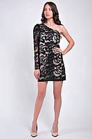 Коктейльное  короткое платье из паеток