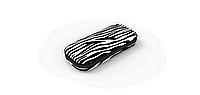 Пенал ТМ Zipit Colorz Box цвет Zebra ( черно-белый)