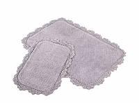 Набор ковриков для ванной Irya Serra 60*90+40*60 сиреневый