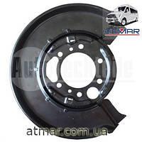 Защита заднего тормозного диска левая 313 Mercedes Benz Sprinter 4614230120