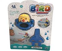 """Игрушка для купания """"Птичка"""" 9002 (120шт/2) цепляется на кран,в слюде"""