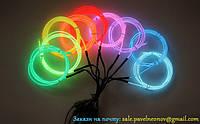 Холодний неон—гибкий светящийся провод 2-го поколения, 2.2мм. Цвета на выбор.