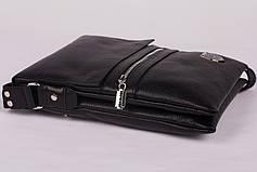 Новинка! Кожаная мужская сумка Philipp Plein, фото 3