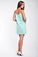 Коктейльное  женское платье короткое из паеток, фото 2